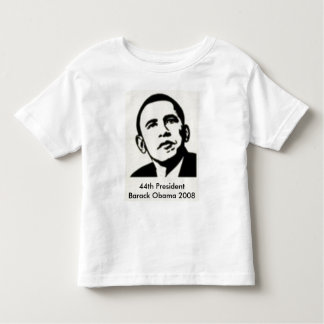 44th President Barack Obama 2008 - Customized T Shirt
