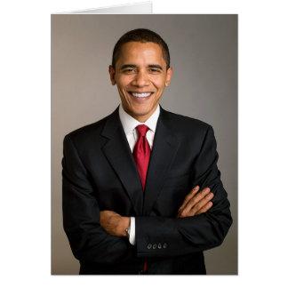 44th President Barack Obama Card