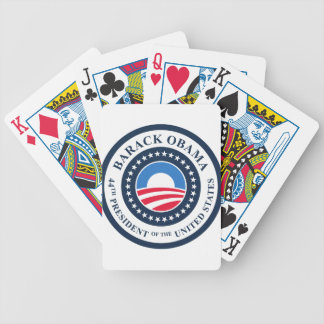 44th President Bicycle Playing Cards