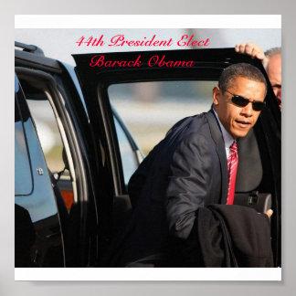 44th President ElectBarack Obama Print
