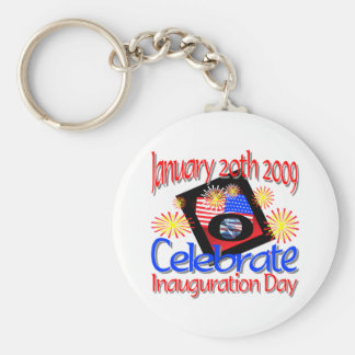 44th President  January 20th 2009 Inauguration Keychain