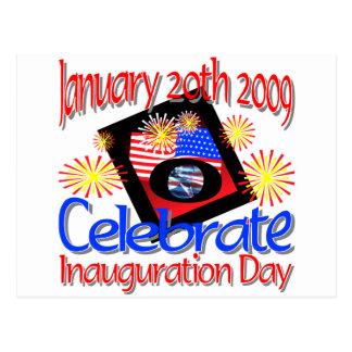 44th President  January 20th 2009 Inauguration Postcard