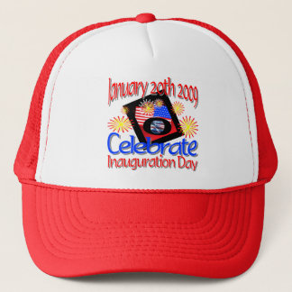 44th President  January 20th 2009 Inauguration Trucker Hat