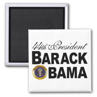 44th President Magnet (white/black)