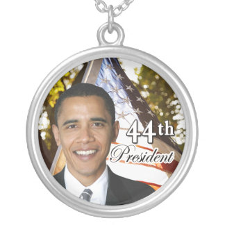44th President Obama Necklace