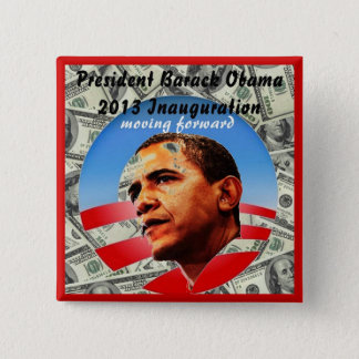 44TH PRESIDENT OF THE UNITED STATES  BARACK OBAMA PINBACK BUTTON