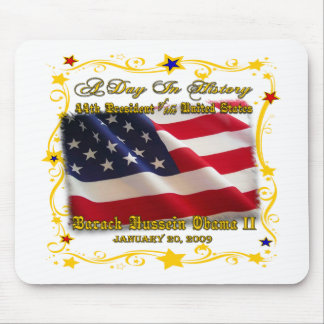 44th President of the USA Gifts and Apparel Mouse Mats