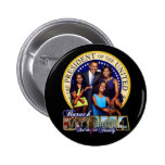 44th president pinback buttons