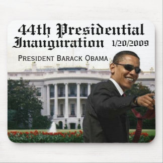 44th Presidential, Inauguration Mouse Mats