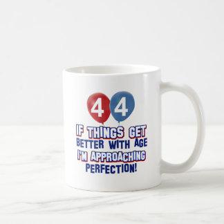 44th year old birthday design coffee mug