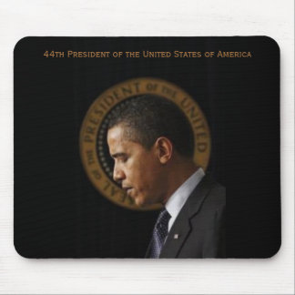 44the president. mouse pad