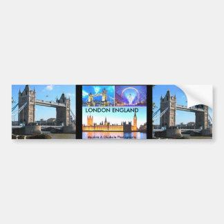 450px-London_collage 3A DESIGN BY MOJI OKUBULE Car Bumper Sticker