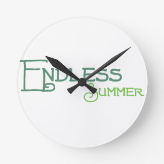 451 ENDLESS SUMMER ROUND CLOCK
