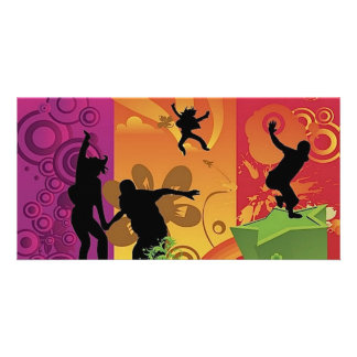 4532-Happiness-is-colorful Card