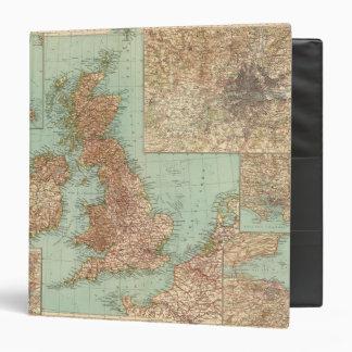 4546 Gran Bretagna 3 Ring Binders