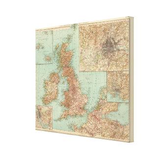 4546 Gran Bretagna Canvas Print