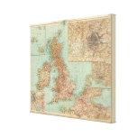 4546 Gran Bretagna Impresión En Lienzo
