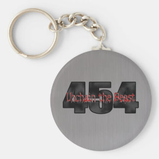 454 Big Block Beast chevy Keychain