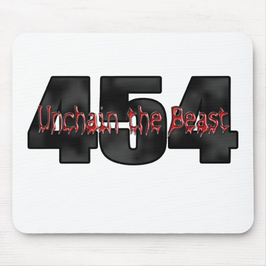 454 Big Block Beast Mouse Pad