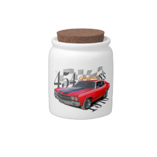454 SS CANDY JARS