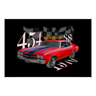 454 SS POSTERS