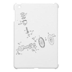 454 phone tablet laptop ipod cases covers zazzle 67 Chevelle Trunk Stickers 454ci piston diagram ipad mini cover