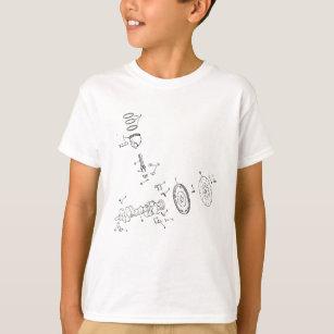 kids 454 chevy t shirts zazzle 1970 Chevy Chevelle SS Custom 454ci piston diagram t shirt