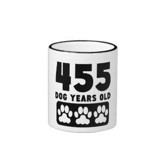 455 Dog Years Old Ringer Mug