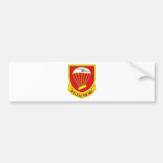 456th Airborne Field Artillery Battalion - Google Car Bumper Sticker