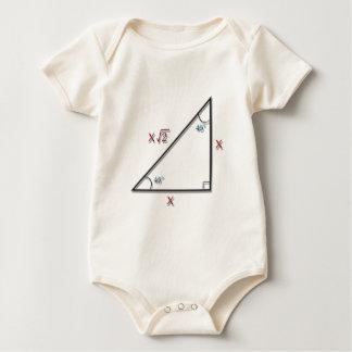 45-45-90 Triangle Bodysuit