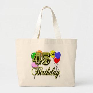 45.a mercancía feliz del cumpleaños bolsas de mano