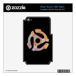 45 Adapter Tie-Dye Decal For iPod Touch 4G