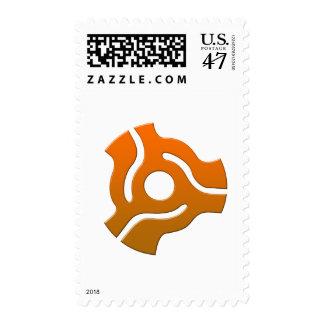 45 Adapter - Turntable Vinyl Record DJ Disc Jockey Postage Stamp