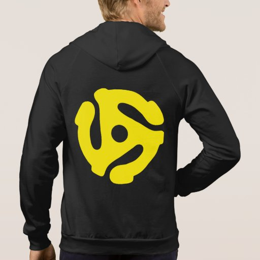 45 Adapter Yellow Zip Up Hoodie
