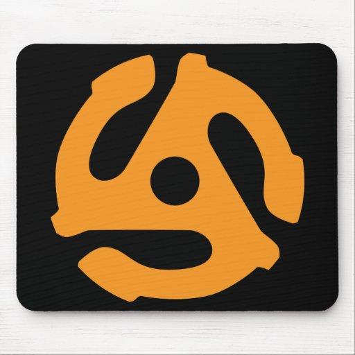 45 Adaptor Mouse Pad
