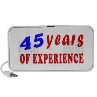 45 años de experiencia altavoz de viajar