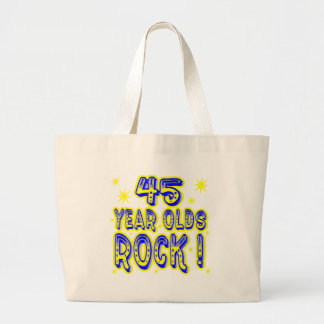 ¡45 años de la roca! La bolsa de asas (del azul)