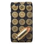 45 balas de la munición del calibre droid RAZR fundas