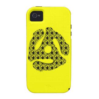 45 caja de la casamata de YellowiPhone 4 del parte Case-Mate iPhone 4 Fundas