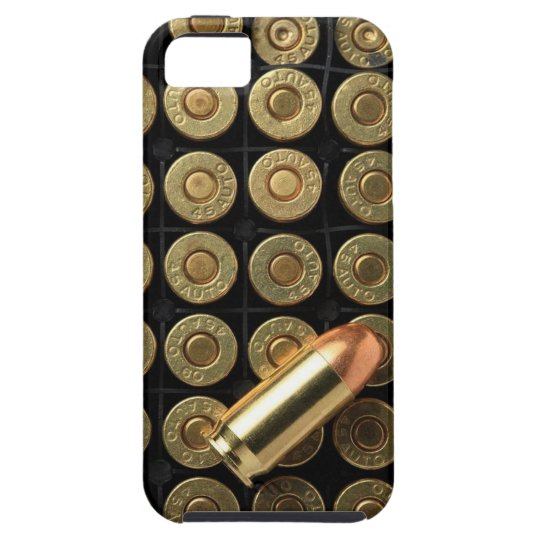 45 Caliber Ammo Bullets iPhone SE/5/5s Case