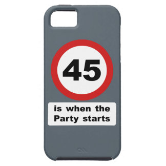 45 is when the Party Starts iPhone SE/5/5s Case