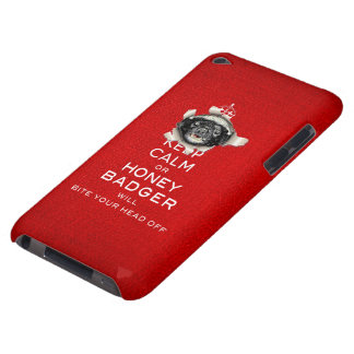 [45] Keep Calm or Honey Badger… Case-Mate iPod Touch Case