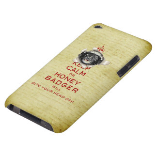 [45] Keep Calm or Honey Badger… iPod Touch Case