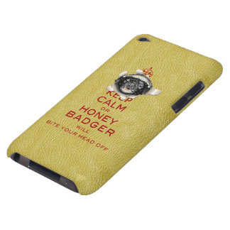 [45] Keep Calm or Honey Badger… iPod Touch Cases