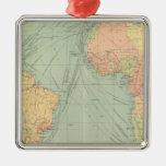45 líneas de comunicación, Océano Atlántico Ornamentos De Navidad