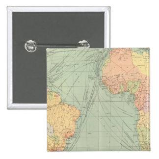 45 líneas de comunicación, Océano Atlántico Pin Cuadrado