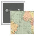45 líneas de comunicación, Océano Atlántico Pins