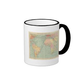 45 líneas de comunicación, Océano Atlántico Tazas De Café