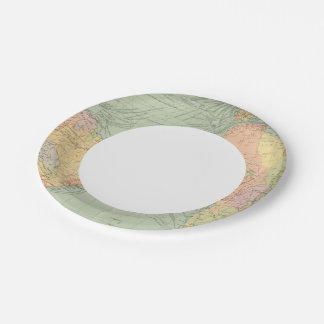 45 lines of communication, Atlantic Ocean Paper Plate