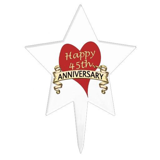45.o. Aniversario Figuras Para Tartas